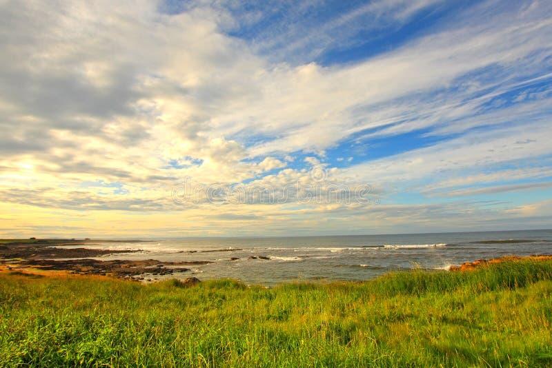 Het Strand van Cambo, Fife, Schotland royalty-vrije stock foto's