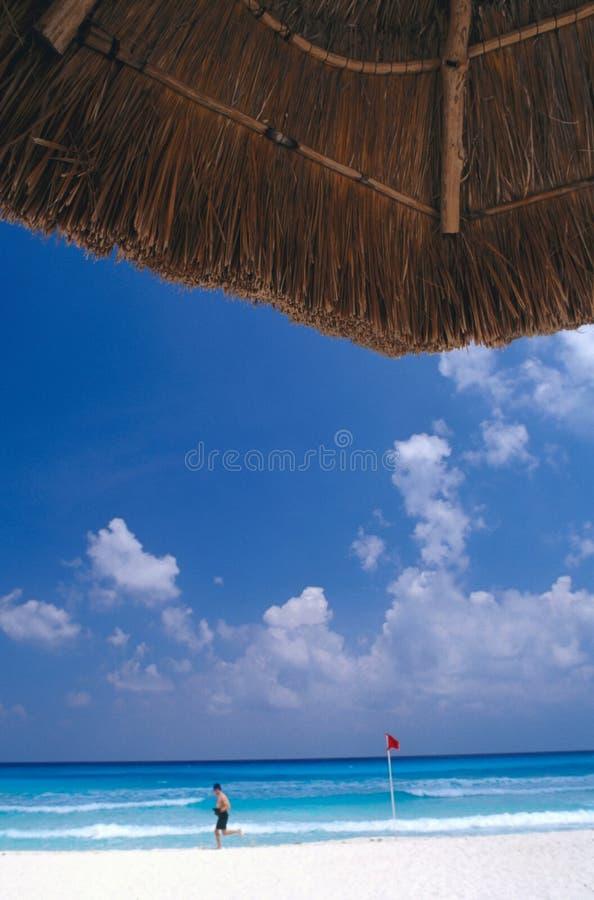 Het Strand van Cancun stock fotografie