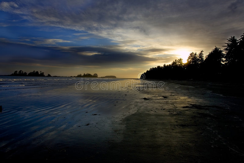 Het Strand van Chesterman royalty-vrije stock foto