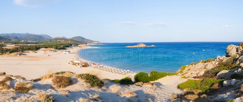 Het strand van Chia royalty-vrije stock foto
