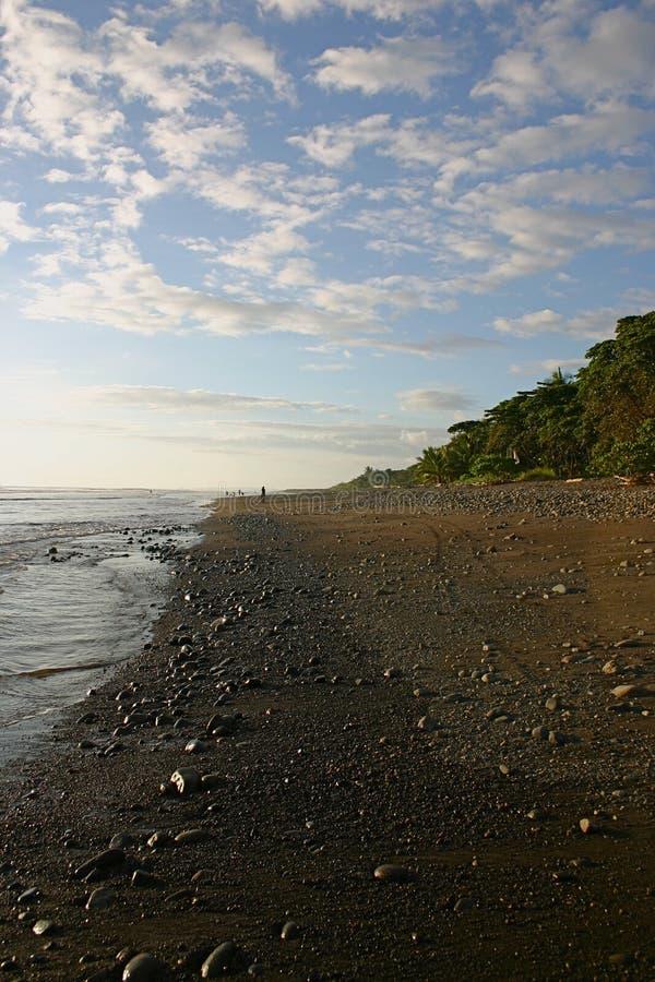 Het Strand van Costa Rica stock fotografie
