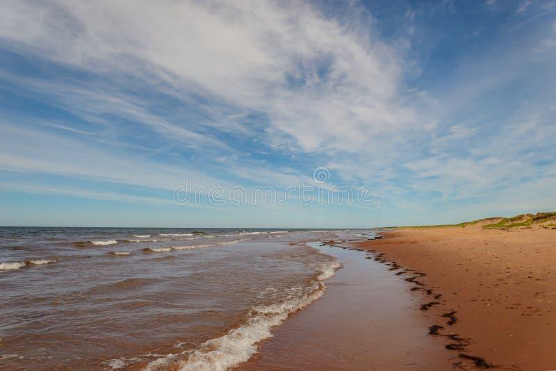 Het Strand van Dalvay royalty-vrije stock foto's