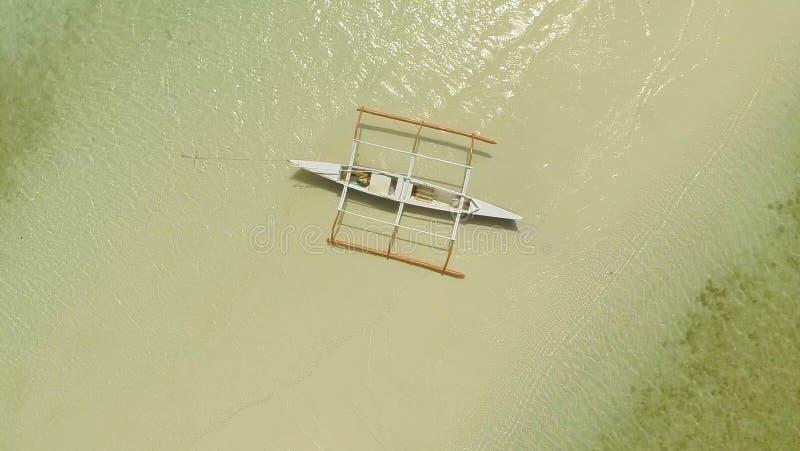 Het Strand van Danang, Vietnam Lucht Mening filippijnen Andastad stock foto