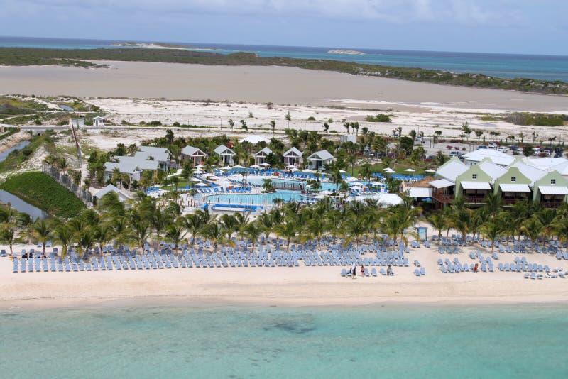 Het strand van de Bahamas royalty-vrije stock foto
