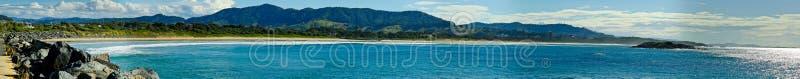 Het strand van de Haven van Coffs royalty-vrije stock foto's