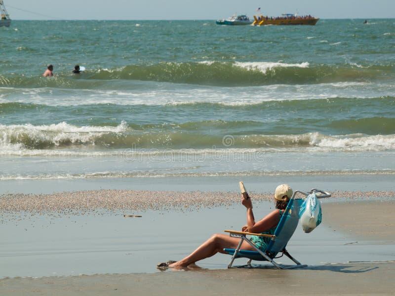 Het strand van de mirte stock afbeeldingen