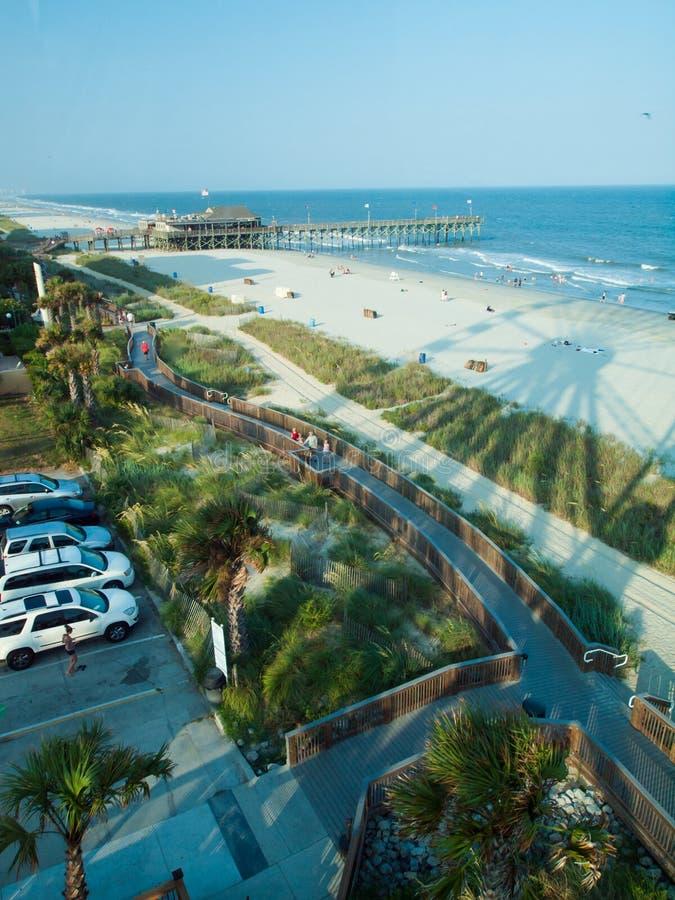 Het strand van de mirte stock foto's