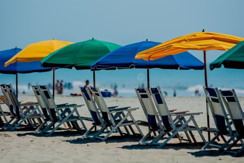 Het strand van de Zuid- mirte Carolina royalty-vrije stock foto's