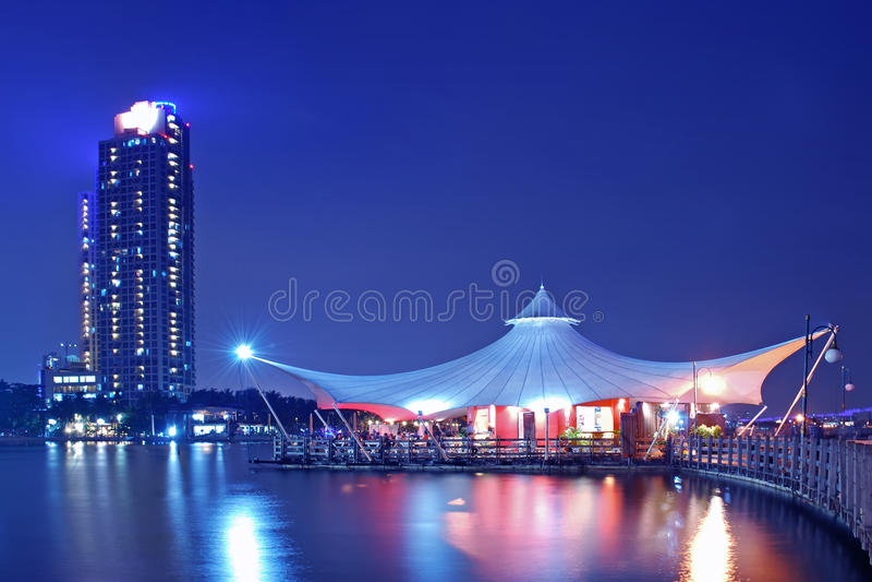 Het strand van Djakarta royalty-vrije stock fotografie