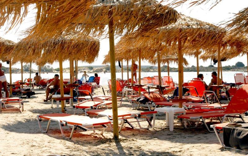Het strand van Elafonissos royalty-vrije stock foto's