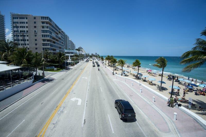 Het Strand van Fort Lauderdale stock fotografie