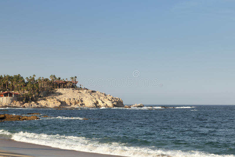 Het strand van Gr Chileno in Los Cabos stock fotografie