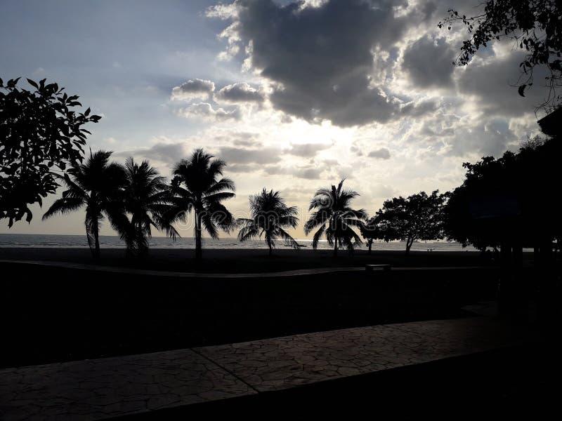 Het strand van haven dickson Maleisië royalty-vrije stock fotografie