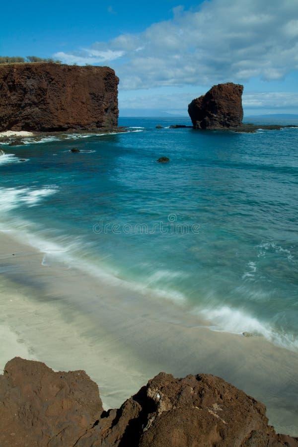 Het Strand van Hawaï stock fotografie