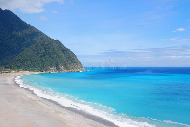 Het strand van het oosten van Taiwan royalty-vrije stock foto