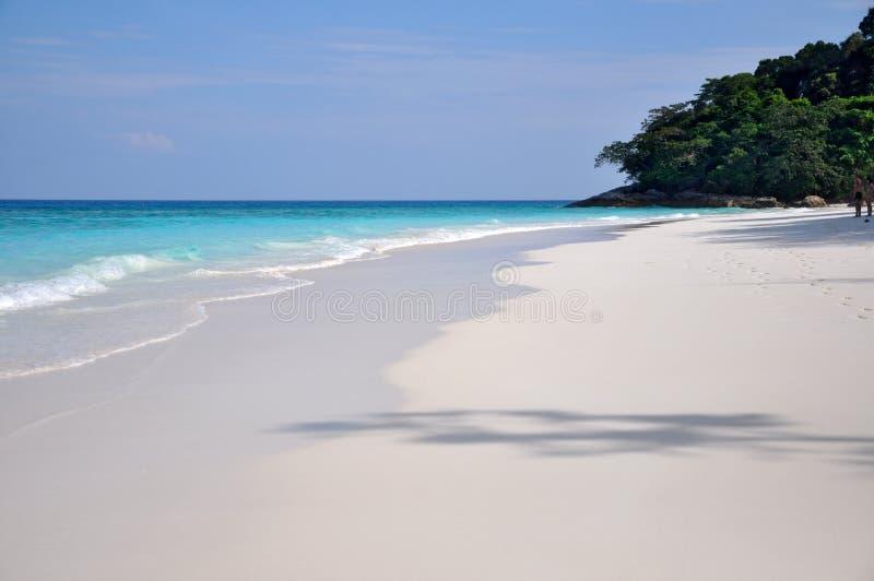 Het Strand van het paradijs bij chaiEiland van Ta stock fotografie