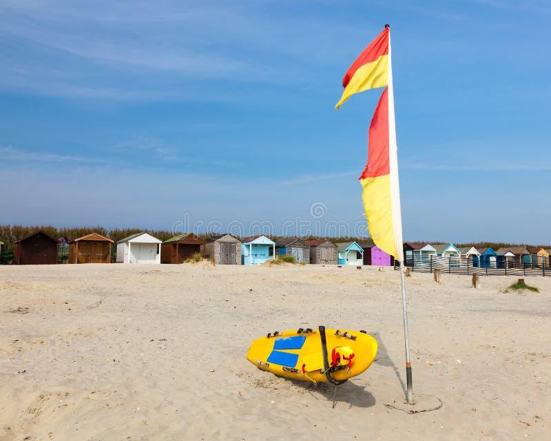 Het Strand van het West- westenwittering Sussex Engeland stock foto