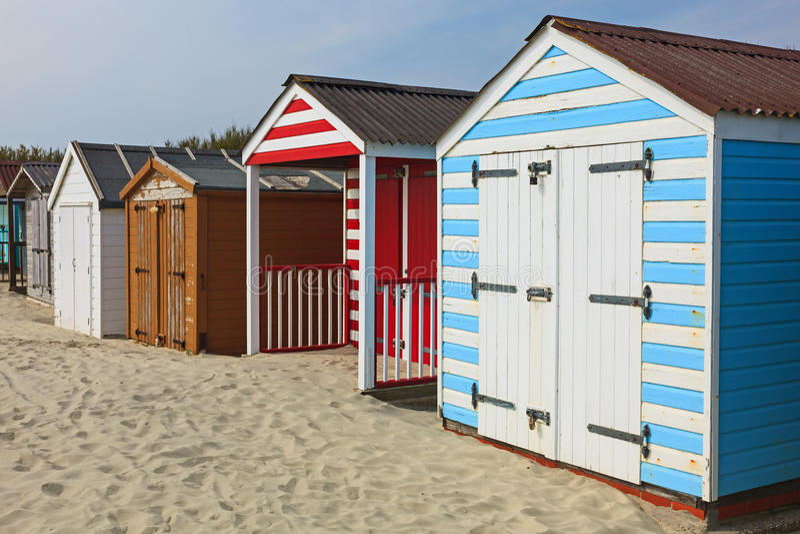 Het Strand van het West- westenwittering Sussex Engeland royalty-vrije stock afbeeldingen