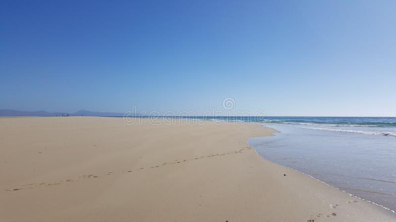 Het strand van Jandia royalty-vrije stock foto