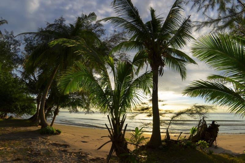 Het Strand van Klongprao royalty-vrije stock foto