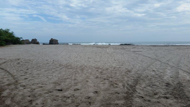 Het strand van La Boquita stock foto's