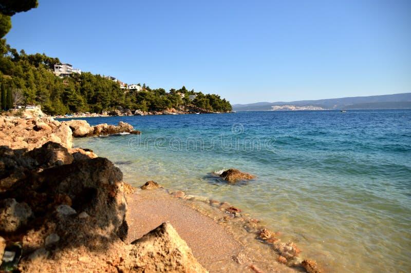 Het strand van Malaluka royalty-vrije stock fotografie