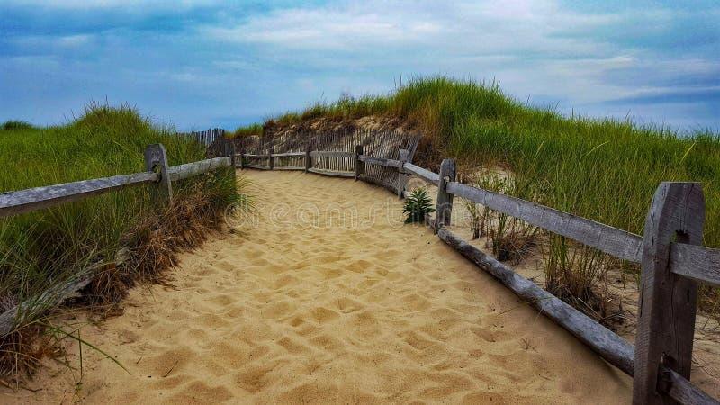 Het Strand van Massachusetts royalty-vrije stock afbeelding