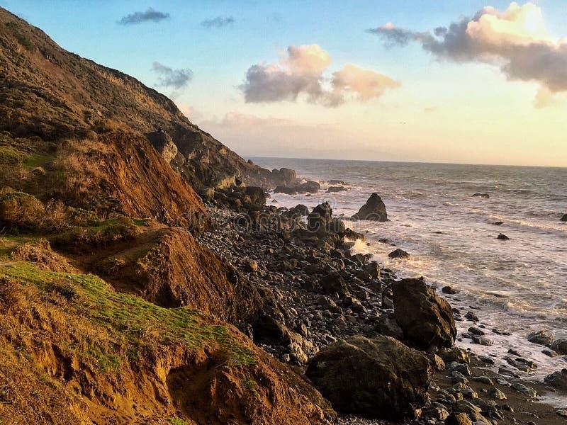 Het Strand van Muir royalty-vrije stock fotografie