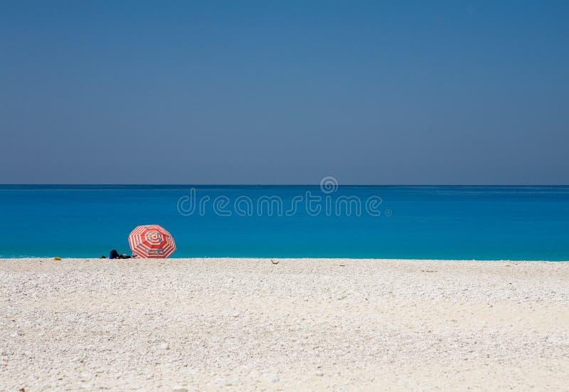 Het strand van Myrtos royalty-vrije stock foto