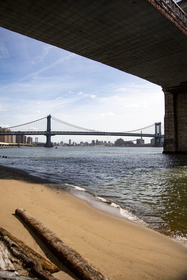 Het Strand van New York stock afbeeldingen