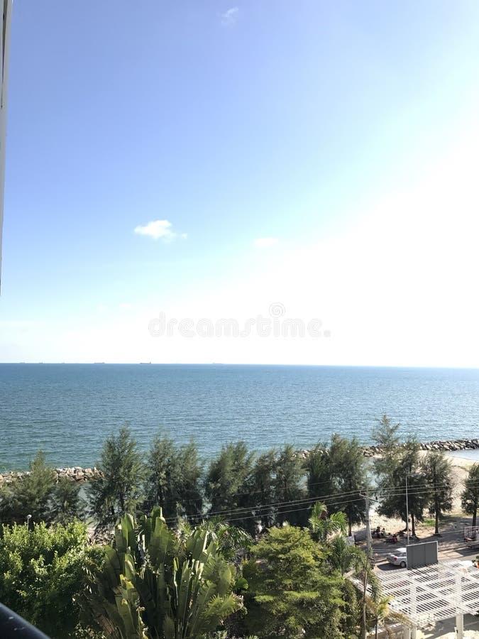 Het strand van Nice royalty-vrije stock foto