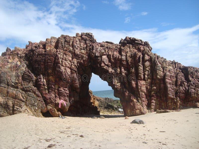 Het Strand van Pedrafurada stock fotografie