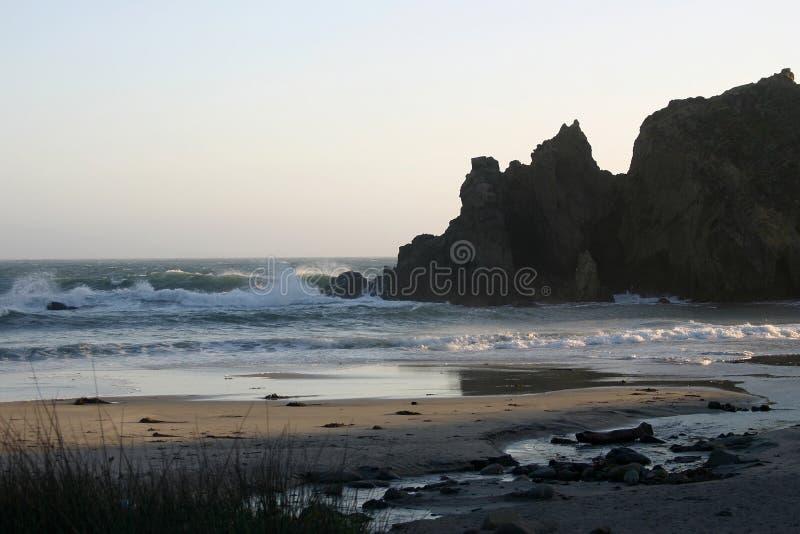 Het Strand van Pfeiffer stock afbeeldingen
