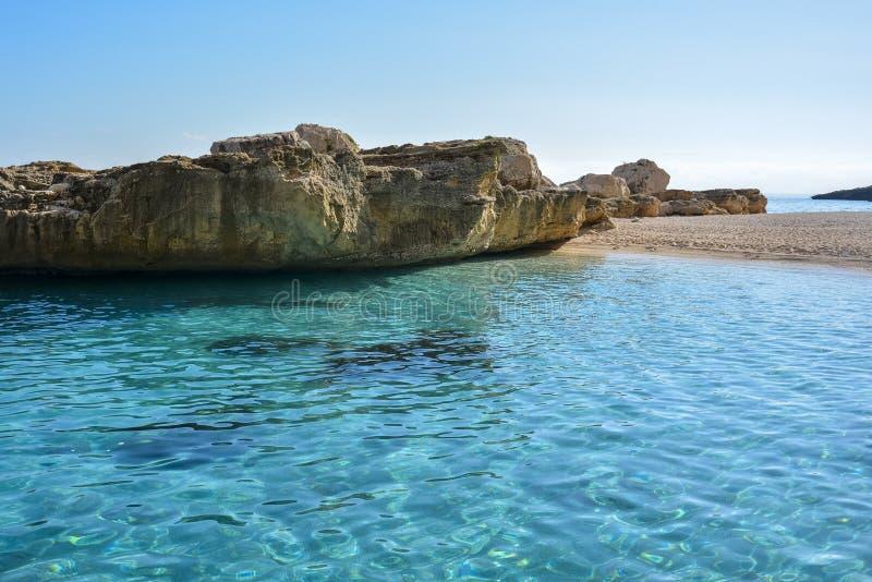 Het strand van Sardinige royalty-vrije stock afbeeldingen