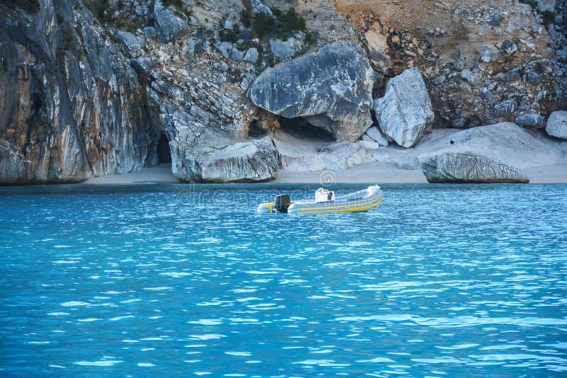 Het strand van Sardinige stock foto