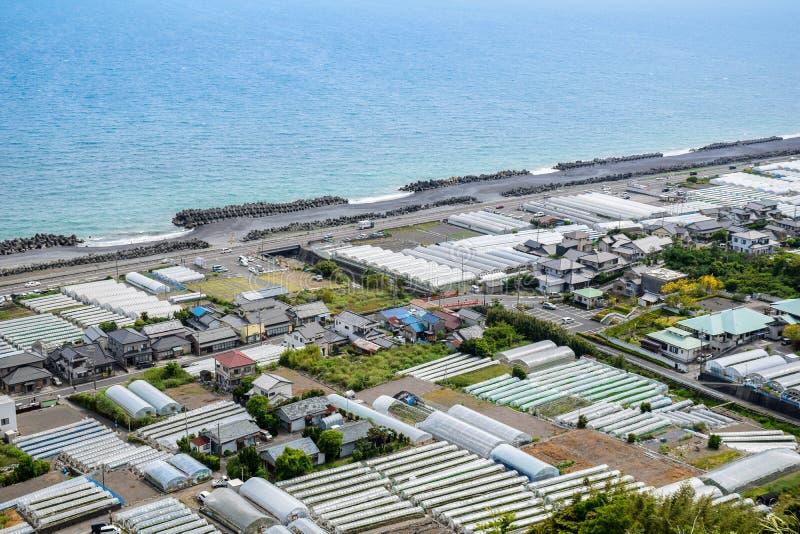 Het strand van Shizuoka stock afbeelding