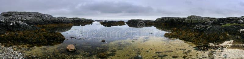 Het Strand van Spiddal stock fotografie