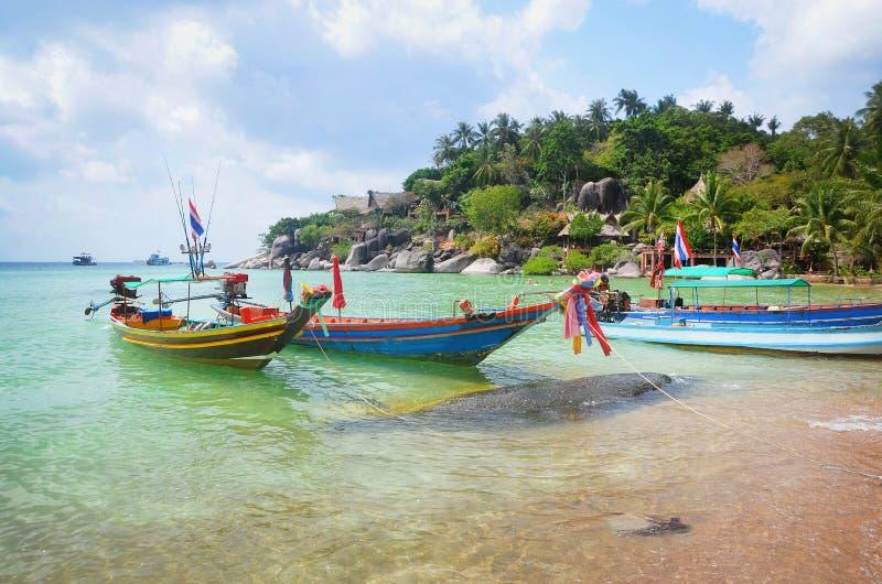 Het strand van Thailand stock afbeelding