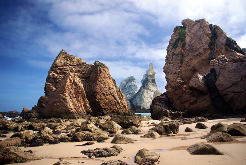 Het Strand van Ursa stock foto