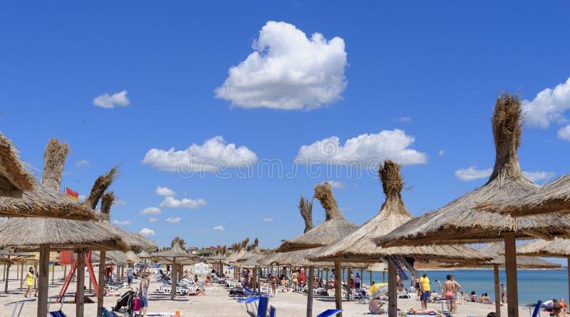Het strand van Vamaveche royalty-vrije stock foto