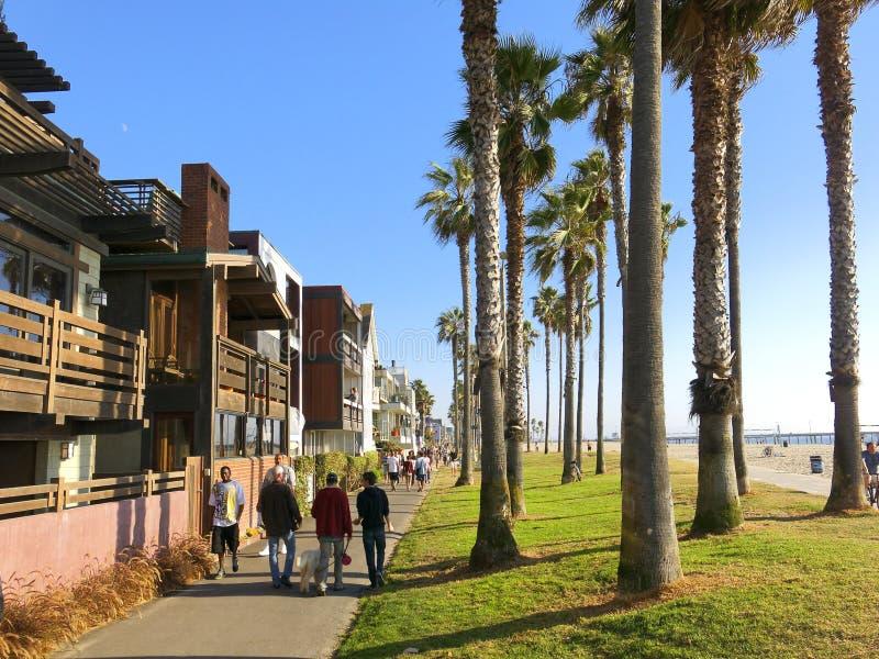 Het Strand van Venetië stock afbeeldingen