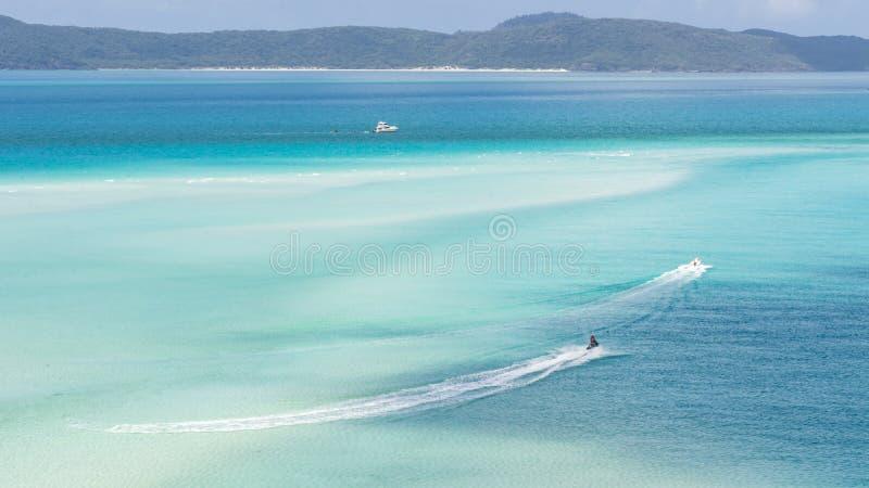 Het Strand van Whitehaven, Australië royalty-vrije stock afbeelding