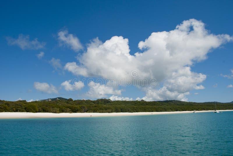 Het Strand van Whitehaven, Queensland, Australië royalty-vrije stock afbeelding