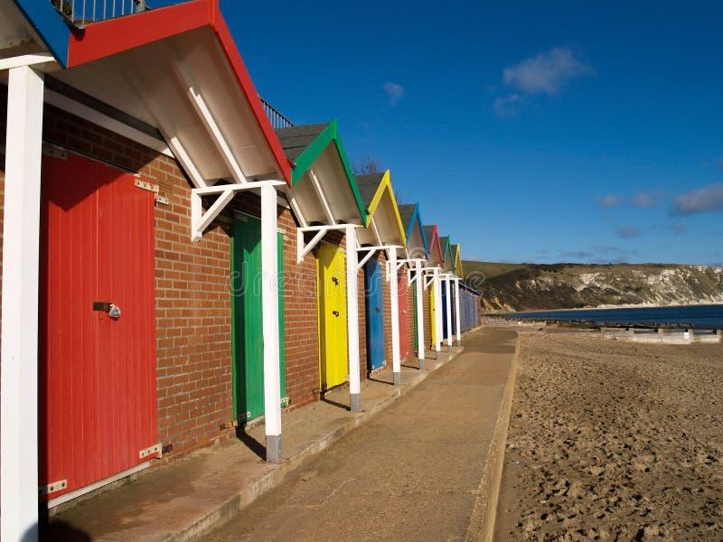 Het Strandhutten van Swansea royalty-vrije stock foto's