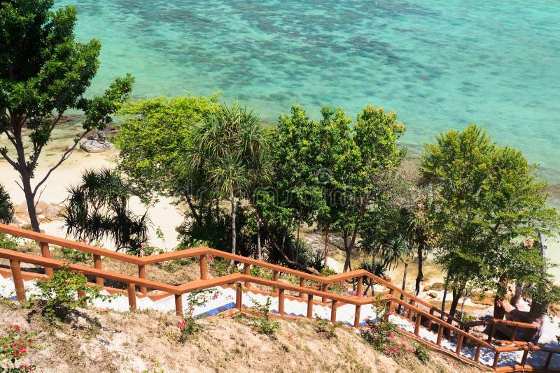 Het Strandkust Van Thailand Van Andaman Royalty-vrije Stock Afbeelding