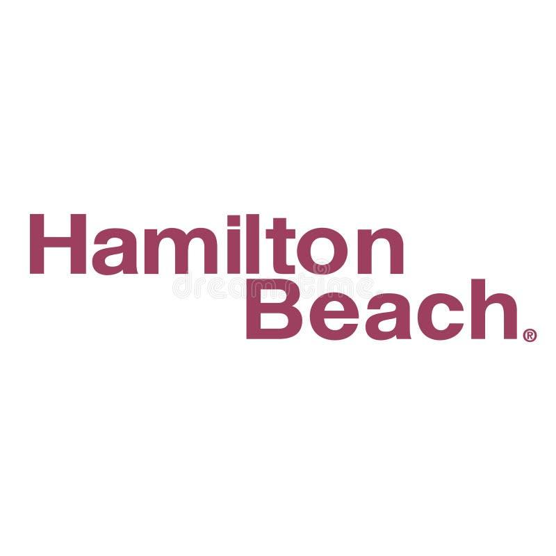 Het strandpictogram van Hamilton vector illustratie