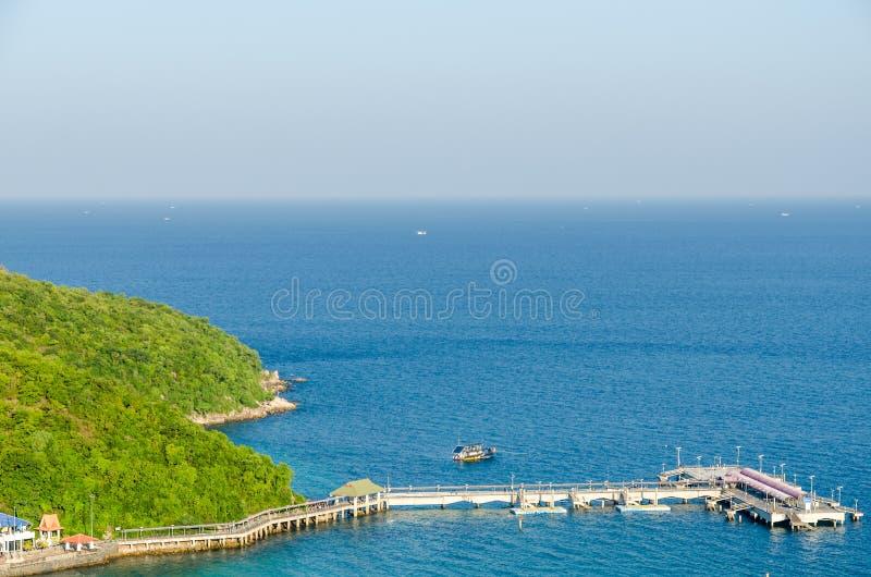 Het strandpijler van Ta Waen royalty-vrije stock afbeelding