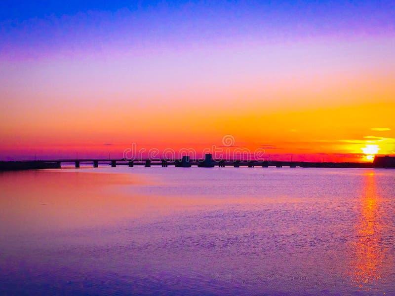 Download Het Strandzonsondergang Van Het Smithspunt Stock Foto - Afbeelding bestaande uit kust, eiland: 54092732