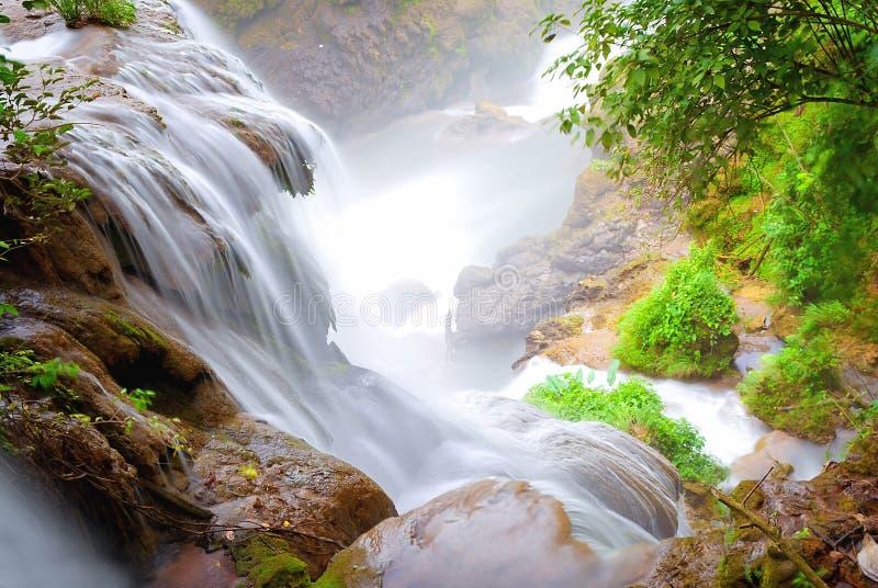 Het Stromen van het water royalty-vrije stock fotografie