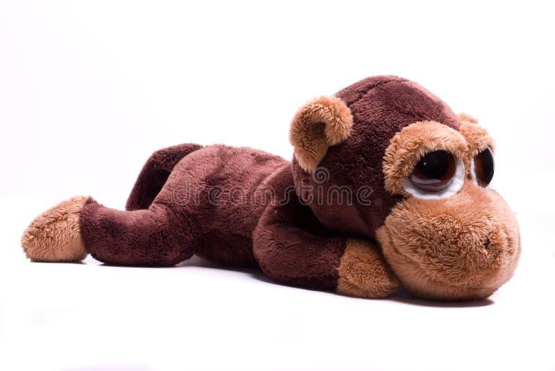 Het stuk speelgoed van de aap royalty-vrije stock afbeelding